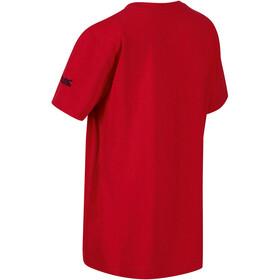 Regatta Bosley III T-Shirt Enfant, true red